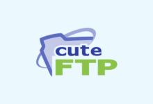 صورة شرح برنامج CuteFTP لنقل الملفات و الصور بالتفصيل