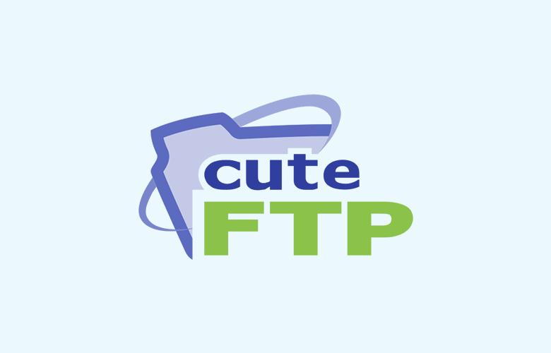 برنامج إدارة الملفات CuteFTP