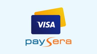 فيزا بايسيرا - Visa Card Paysera